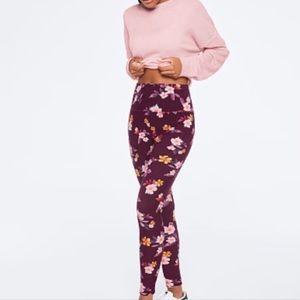 Victoria Secret PINK Ultimate Floral Leggings Sz S